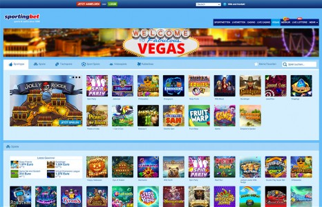 Sportingbet Casino Vegas - die beliebtesten Spiele