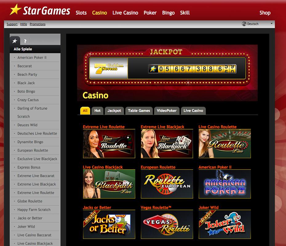 Casino Star Games Gratis