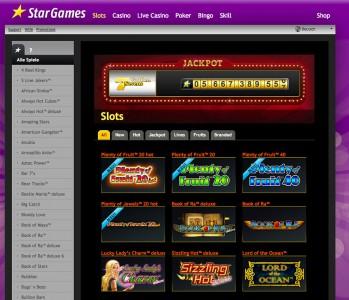 Spielautomaten Spiele des Anbieters