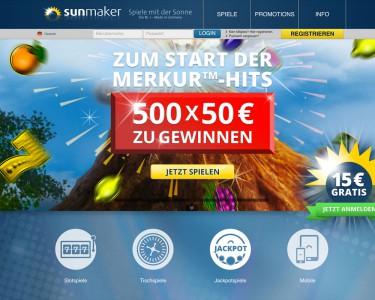 Sunmaker Startseite