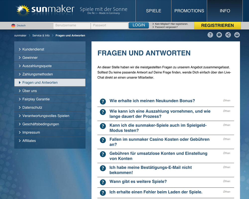 online casino sunmaker .de