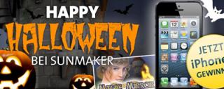 Sunmaker feiert Happy Halloween – iPhone 5 gewinnen