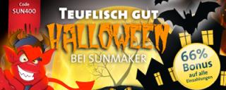Sunmaker Halloween Bonus Code