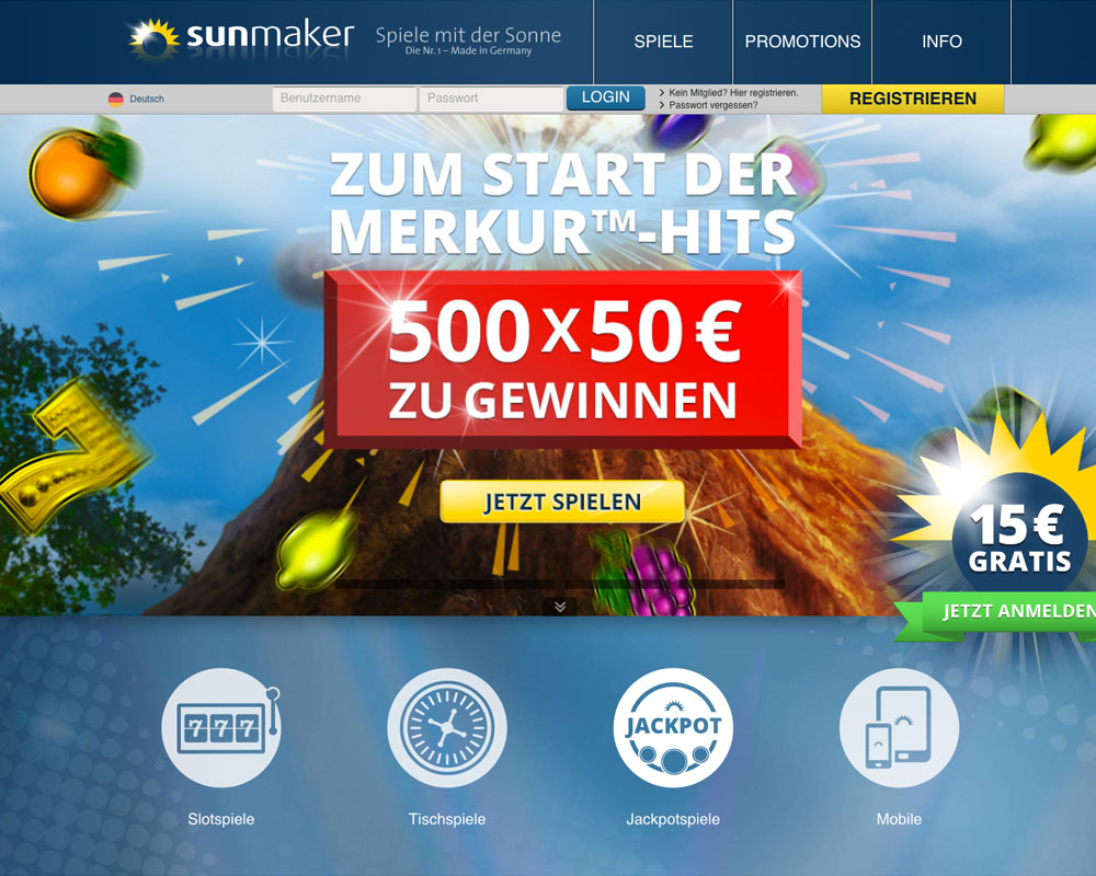 online casino sunmaker casino book