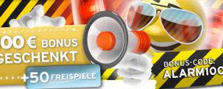 Sunnyplayer schenkt Euch 100€ und 50 Freispiele