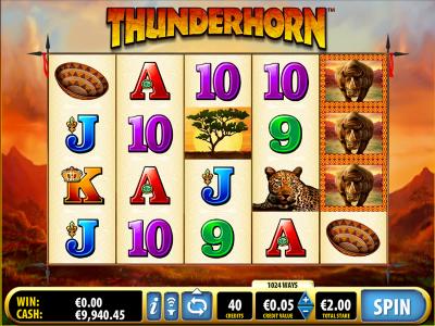 Der Thunderhorn Slot
