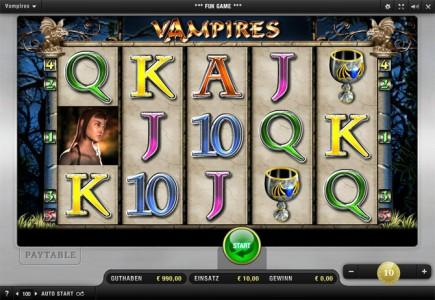 Merkurs Vampir Spiel:  Vampires Night