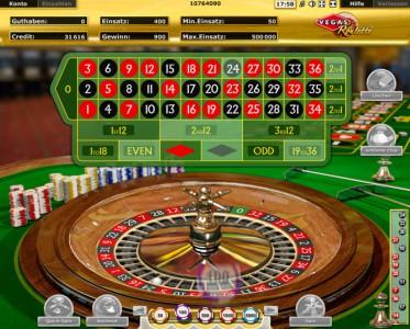 Vegas Roulette Gewinn