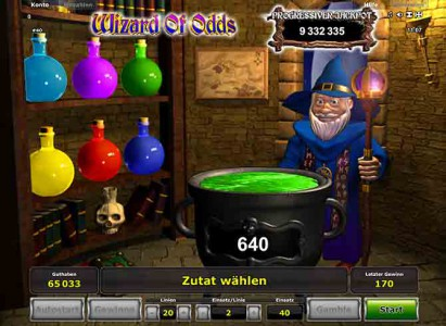 Bonus Spiel Wizard of Odds