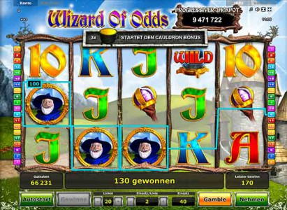 Wizard of Odds - der Novoline Spielautomat