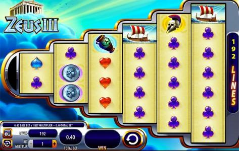 Der Zeus 3 Spielautomat
