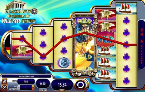 Big Win im Zeus 3 Slot